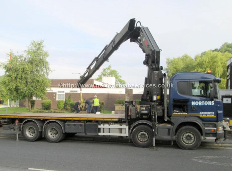 Crane Mounted Lorry