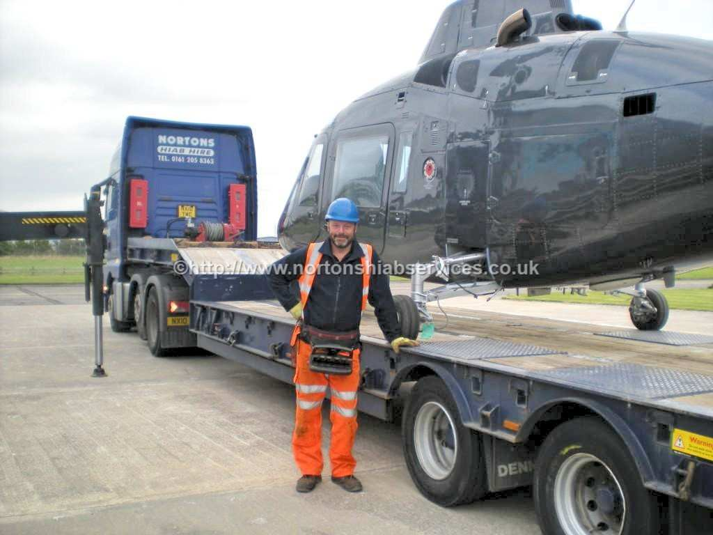 Helicopter Transport October 2015