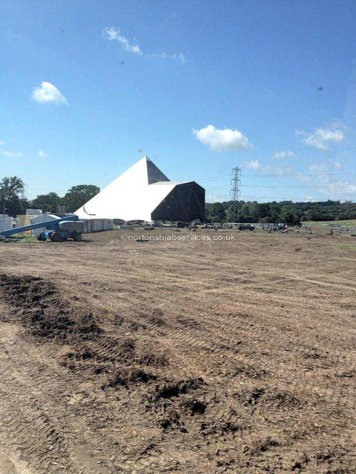 Last Tent Standing at Glastonbury Nortons Hiabs Live at the Pyramid Stage