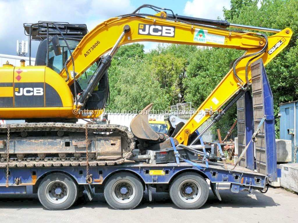 Plant Machinery Loaded for Transportation