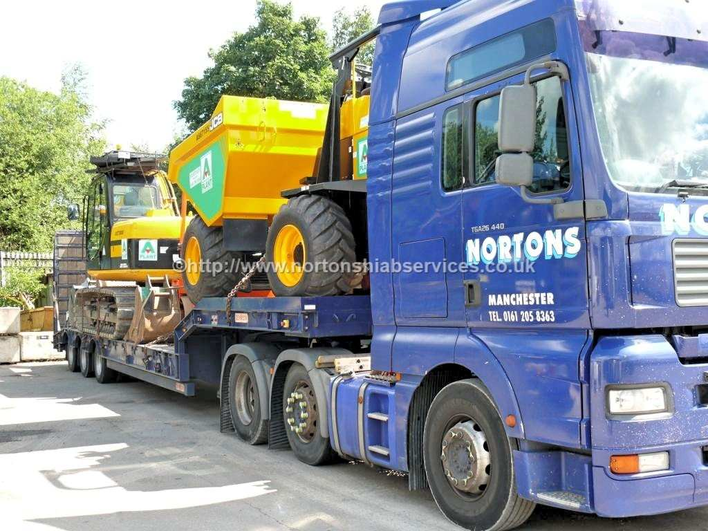 Plant Machinery Loaded for Delivery