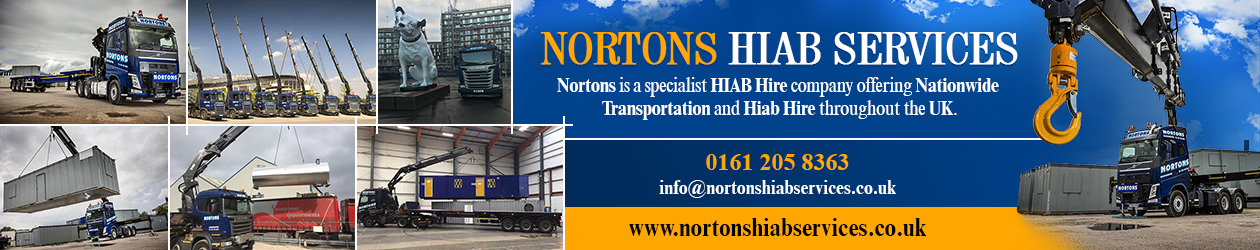 Nortons Hiab Services Ltd Haulage Manchester Northwest UK